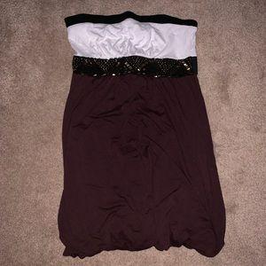 Dresses & Skirts - BEBE strapless dress